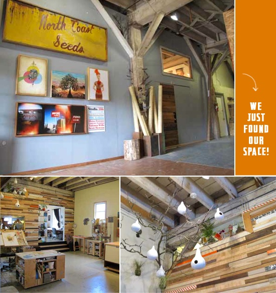 co-working space!Distressed Wood, Pallets Wall, Buckets Lists, Creative Spaces, Coworkers Spaces, Co Work Spaces, Portland Blogshop, Scrapbook Weekend, Bucket Lists