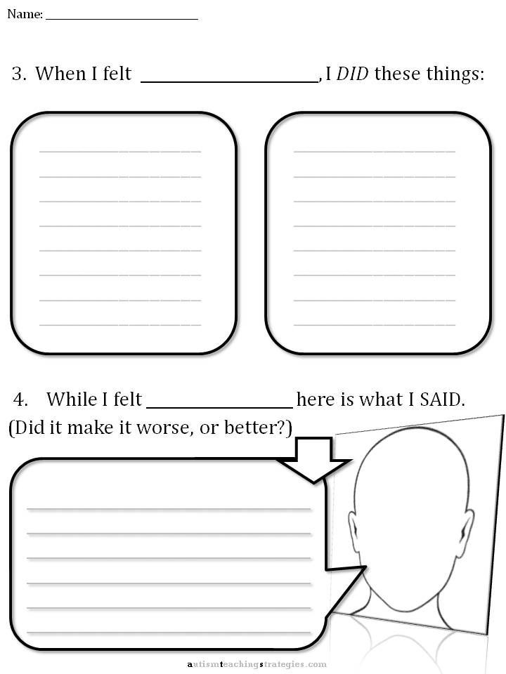 Cbt Worksheet 3 I M Gonna Do This With My Kids Cbt Worksheets Counseling Worksheets Therapy Worksheets