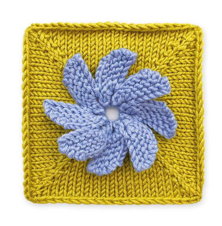 Knitting Trivia Questions : Images about floral block on pinterest free