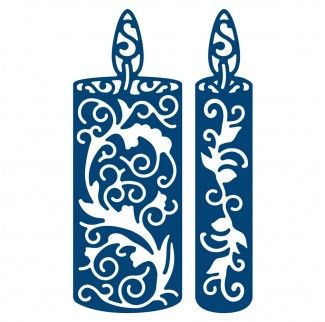 Tattered Lace Dies - Candle