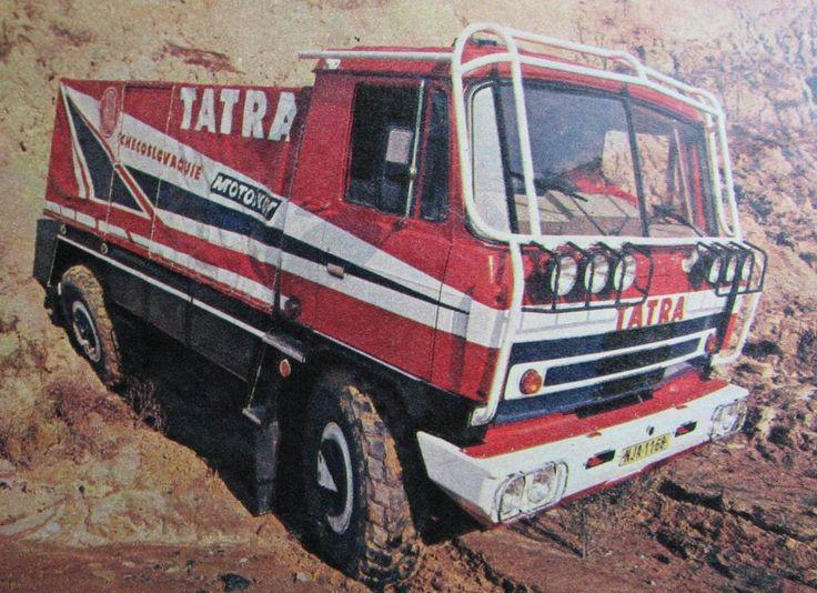 Tatra T815 VD 4x4, Rallye Paříž-Dakar /1987/(№1 1988)