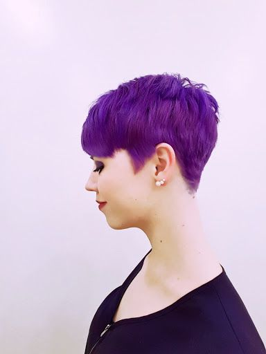 25 best ideas about purple pixie cut on pinterest short for Purple makes you feel