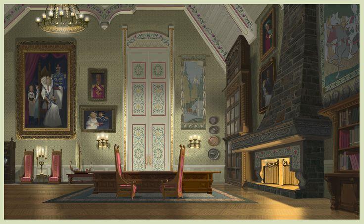 Frozen - Arendelle Castle Concept Art - Frozen Photo (37451732) - Fanpop