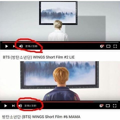...the shadow in wings #2 is the box hobi came out of in wings #6?? ....Okay I'm done