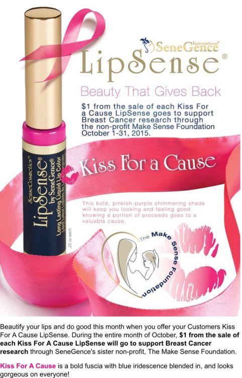 Soul Flower www.senegence.com/AngelineStacy Lipsense Kiss For A Cause