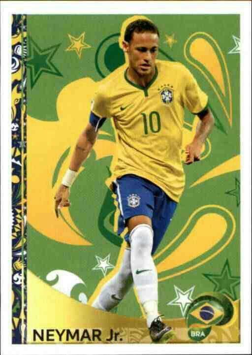 Neymar Jr of Brazil. Copa America 2016 card.