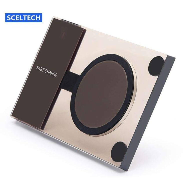 Sceltech Fast Wireless Charger A10-10W Qi Standard Quick Wireless Charger For Samsung Galaxy S7 Edge / Note 5 Phone