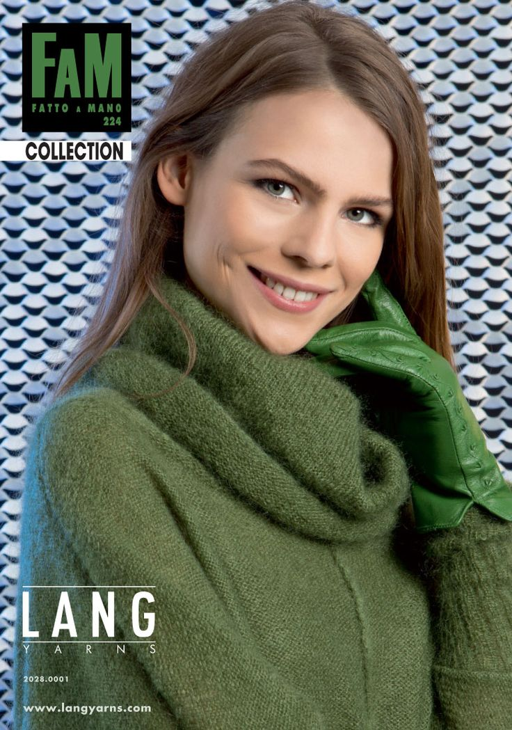 LANG YARNS Collection FAM 224 - Lang Yarns Yarns, Tricot and Catalog