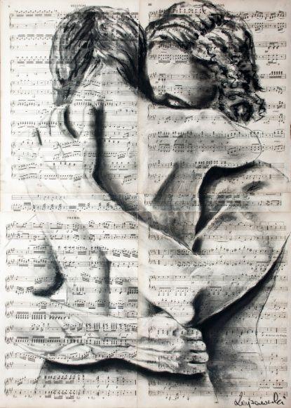 Wahre Gefühle Kunstdruck