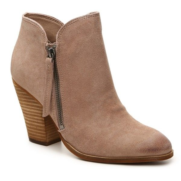 Dolce Vita Hixon Bootie | DSW ($100) ❤ liked on Polyvore featuring shoes, boots, ankle booties, dolce vita booties, ankle boots, ankle bootie boots, short boots and bootie boots