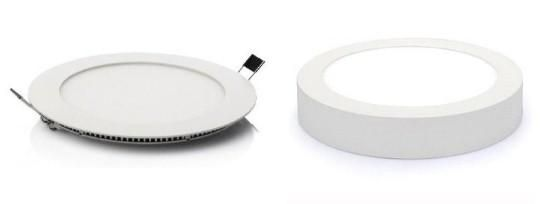 What's the Difference between Recessed and Surface Mounted Panel Lights