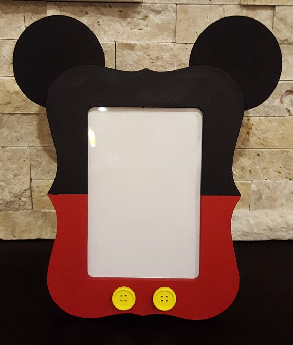 Mickey Mouse Photo Frame  4x6 Mickey Mouse Picture Frame