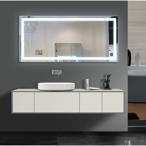 Light Up Your Home With This Harmony Illuminated Medium LED Mirror An