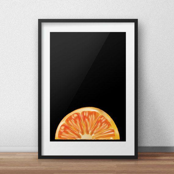 Guarda questo articolo nel mio negozio Etsy https://www.etsy.com/it/listing/497179400/arancione-arte-digitale-arte-di-cibo