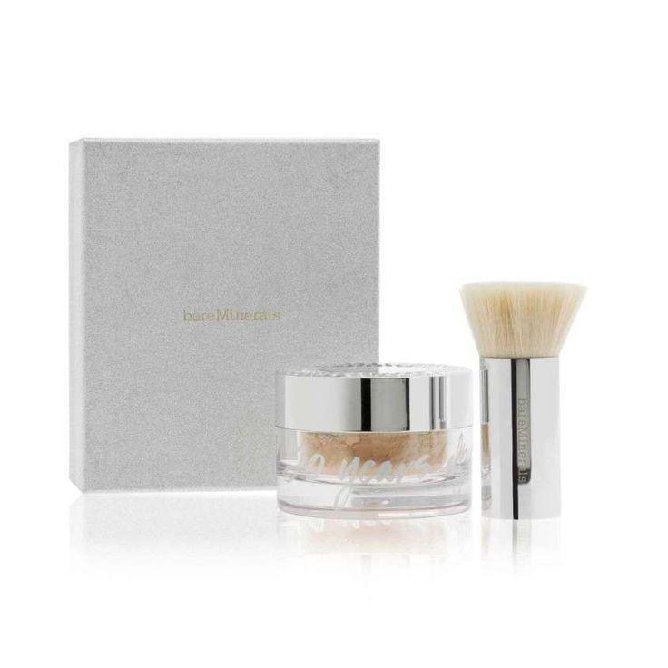 Fondotinta minerale: i prodotti migliori - Deluxe Foundation maxi fondotinta minerale Original con SPF15 bareMinerals