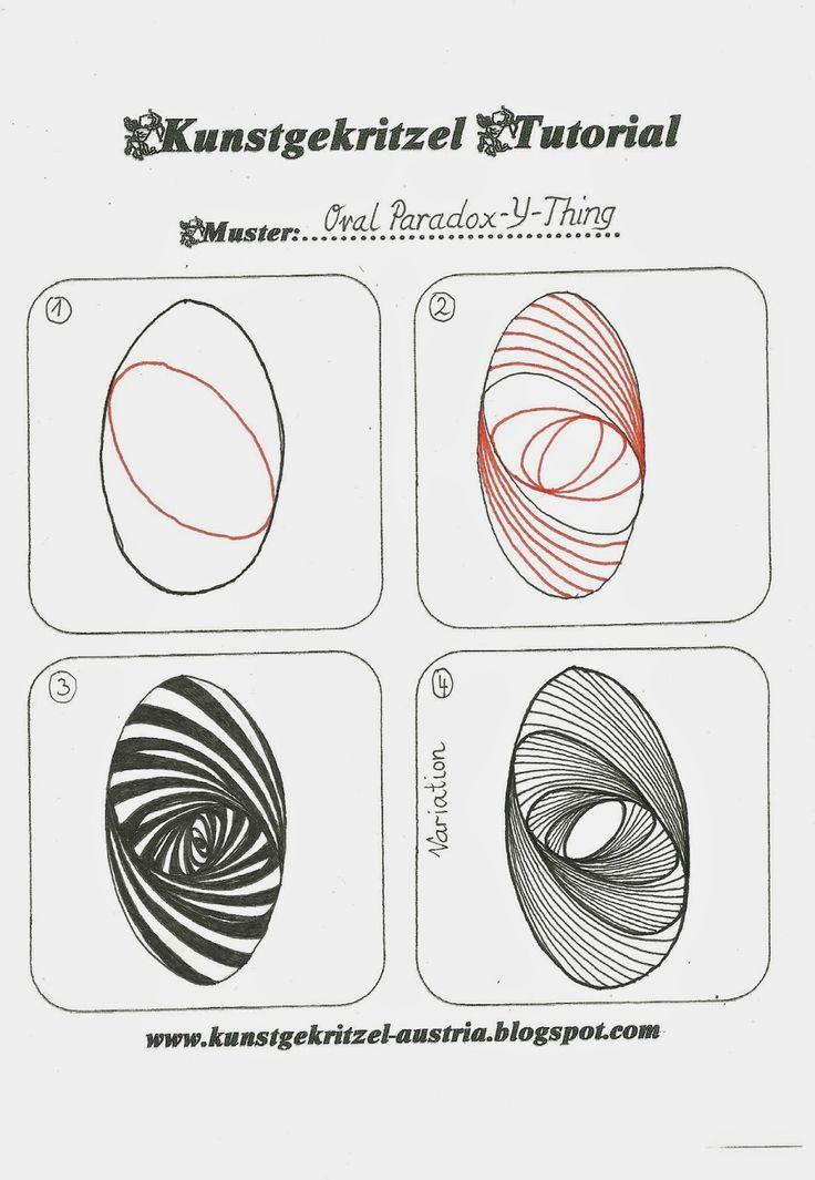 "Kritzellust statt Alltagsfrust: Neues Tutorial für Muster ""Oval-Paradoxy-Thing"""