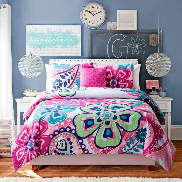 1000 ideas about hot pink bedding on pinterest pink bedding set pink bedding and teen bedding. Black Bedroom Furniture Sets. Home Design Ideas