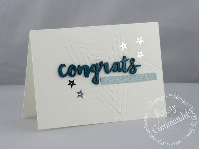 Create an embossed image just using your framelit dies
