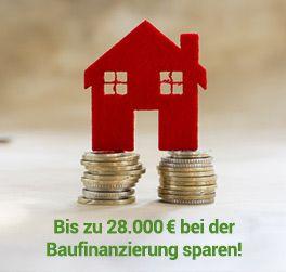 Durch Sondertilgungen kann man bis zu 28000€ bei der Baufinanzierung sparen