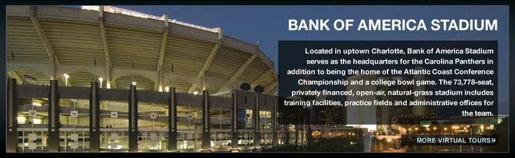 2.6 Miles Away! Carolina Panthers games at the Bank of America Stadium are a short drive or stroll away from Brightwalk!