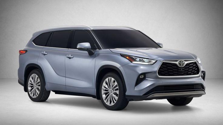 The 2020 Toyota Highlander Hybrid Gets 34 Mpg And A Big New Touchscreen In 2020 Toyota Highlander Hybrid Toyota Suv Toyota Highlander