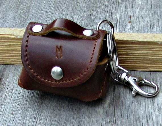 Personalized Leather Keychain Custom Keychain Engraved by GUSFREE
