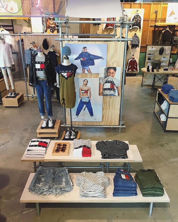"""URBAN OUTFITTERS, Boston, Massachusetts, """"Tommy Hilfiger for Urban Outfitters"""", (Getting together is the easy part, it's the staying together that is tough), pinned by Ton van der Veer"""