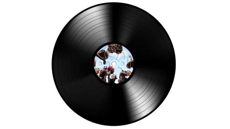 created by the collision of vinyls on pro-DJ™'s turntables...