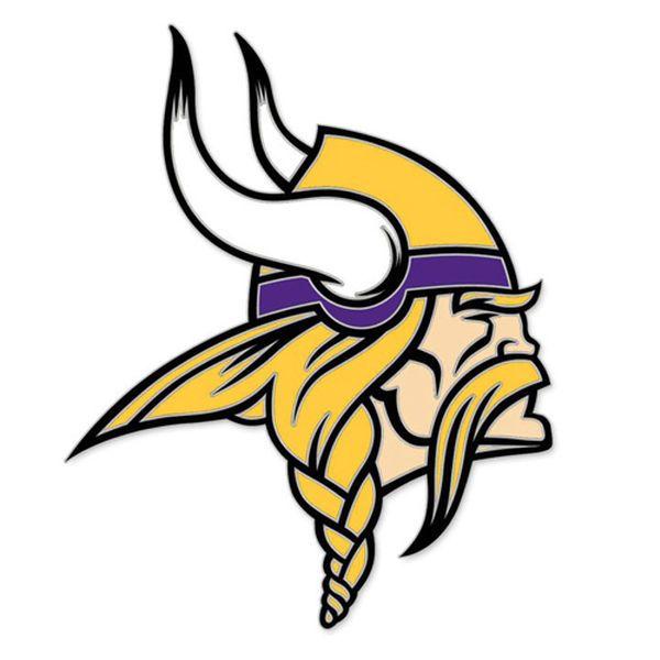 Minnesota Vikings WinCraft Collector Primary Logo Pin - $6.99