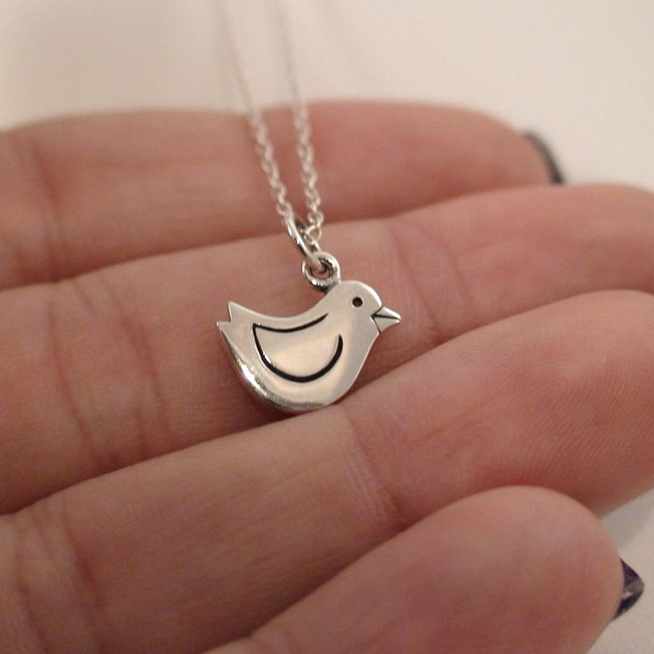 FashionJunkie4Life - Sterling Silver Chick Necklace