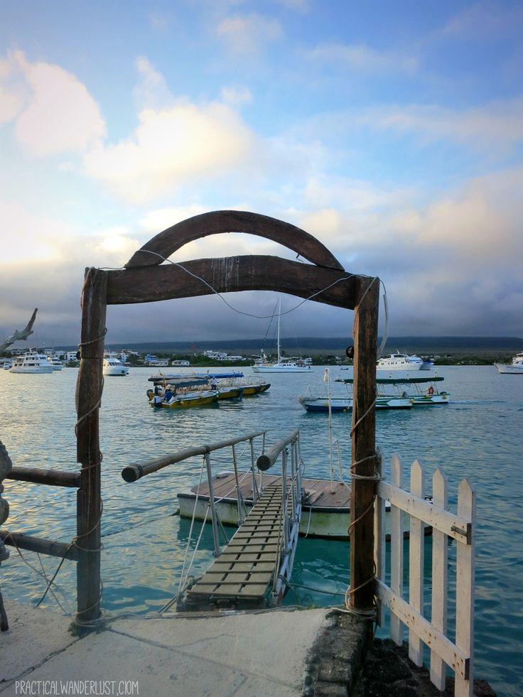 Puerto Ayora on Santa Cruz Island,  in the Galapagos, Ecuador
