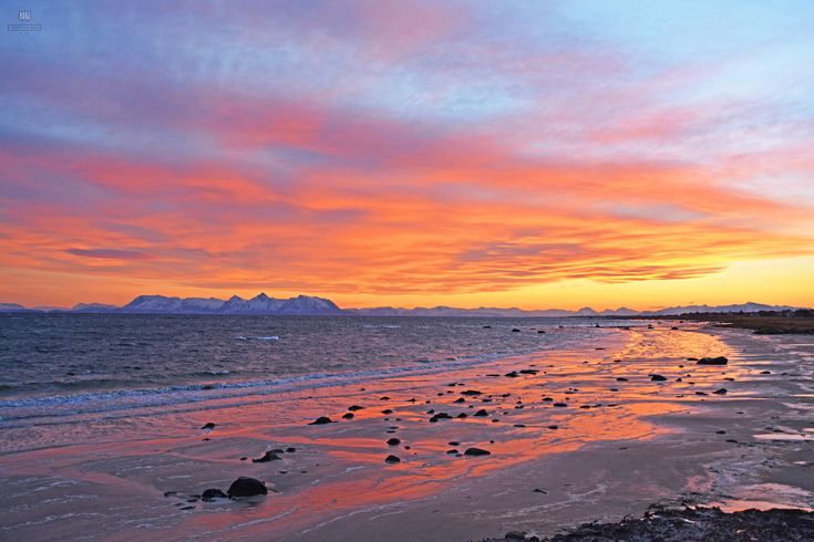 Sunset over the beach, Skarstein, Norway - Need To See It All