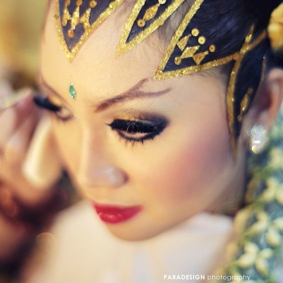 Java traditional wedding #makeup