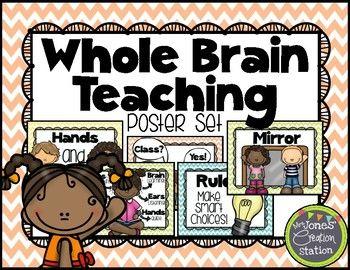 Whole Brain Teaching Strategies posters
