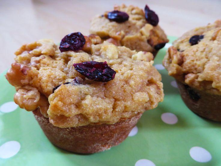 KAMUT® Brand Khorasan Wheat Raisin Walnut Muffins