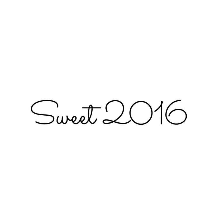 Sweet 2016 ... this Monday really is the beginning of 2016.   Laughter, promises, new beginnings and love will fill us all. 01.04.16