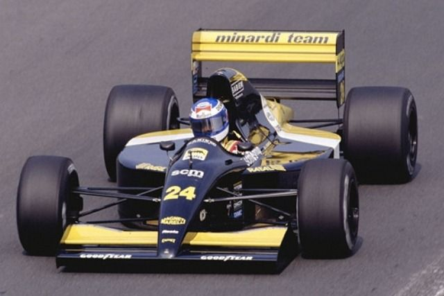 Gianni Morbidelli - 1991 - Minardi M191