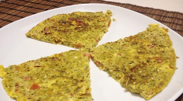 #Frittata con #pesto e #pomodori #ricetta #recipes #gialloblog #picnic