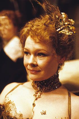 Judi Dench. This woman is amazing. But not because she's an actress.