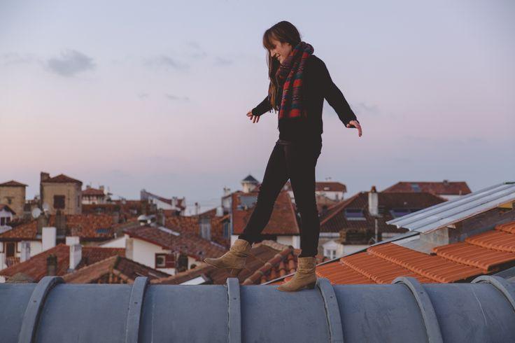 Sur les toits de Saint Jean de Luz #euskadi #basque www.iletaitunefaim.com/blogging-voyage/