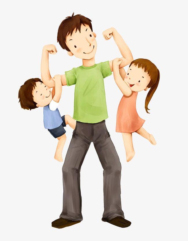 الأب والأطفال الأب الابن بنت Png والمتجهات للتحميل مجانا Kids Story Books Family Cartoon Story Books Illustrations