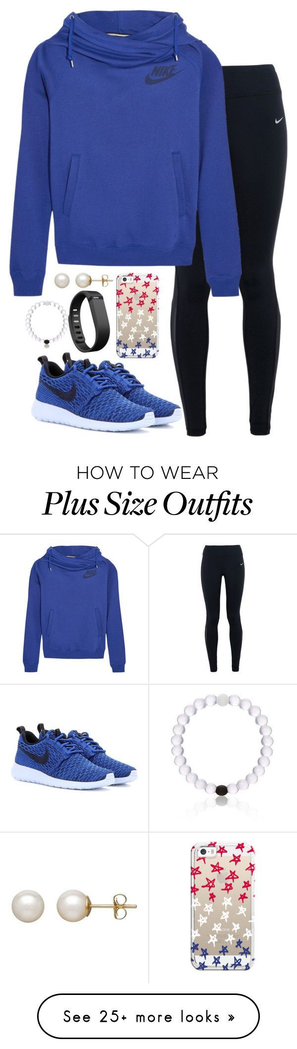 Im so upset by valerienwashington on Polyvore featuring NIKE, Casetify, Fitbit, Honora, womens clothing, womens fashion, women, female, woman and misses
