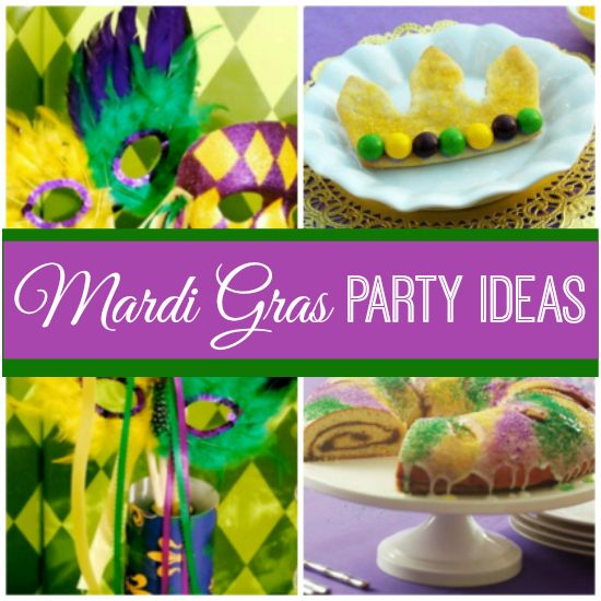 Need Mardi Gras party ideas? Check this out! | catchmyparty.com