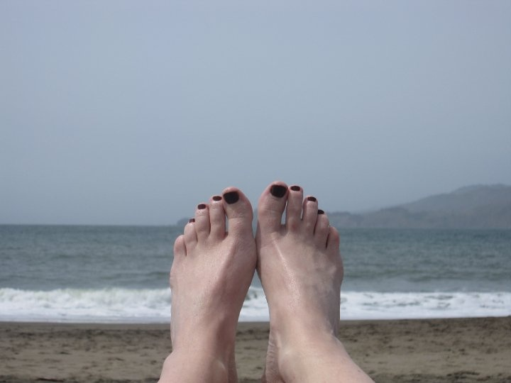 Toes in San Francisco
