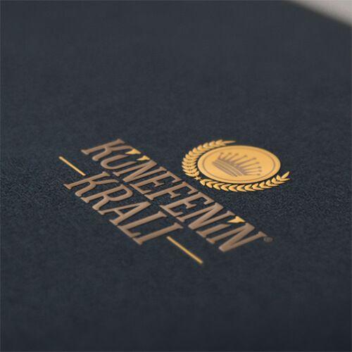Künefenin Kralı - Logo Tasarımı - Logo Design - Restaurant Logo