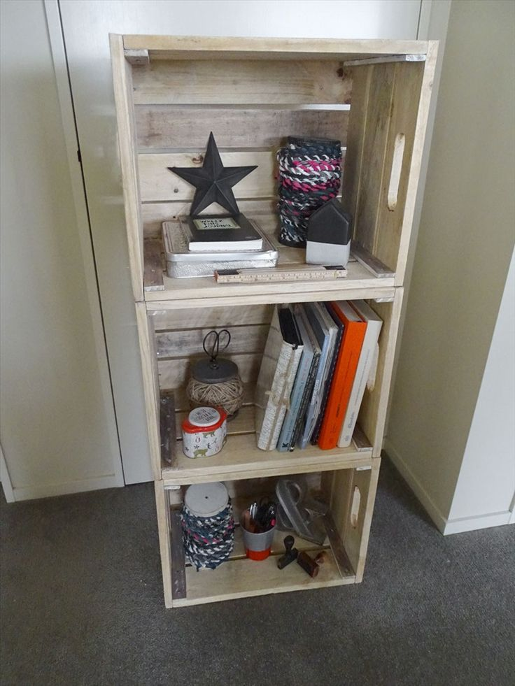 Rustic Stacking Crate
