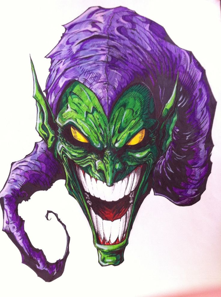 That face... The Green Goblin