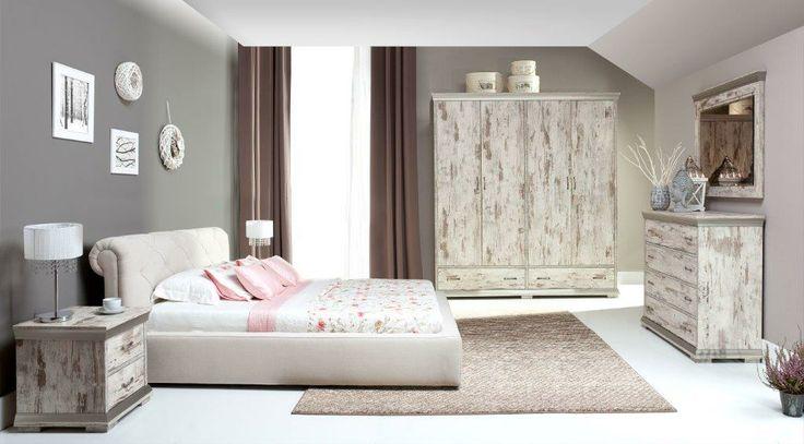 Styl Retro w sypialni wiecznie młody - z oferty New Elegance / Retro bedrooms always popular - New Elegance proposition