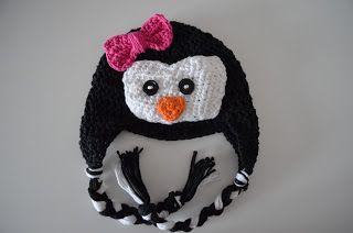 Free Crochet Pattern For Penguin Hat : Crochet Penguin Hat Pattern Crochet Penguin, Penguins ...
