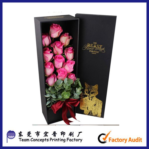 Custom flower packaging gift box from china supplier